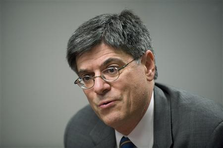 White House Office of Management and Budget Director Jack Lew answers questions during the Reuters Washington Summit in the Reuters newsroom in Washington November 8, 2011. REUTERS/Jonathan Ernst