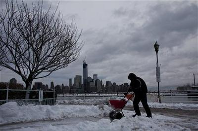 U.S. Northeast digs out from blizzard, tornado strikes...