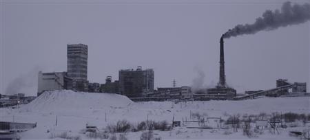 The Vorkutinskaya mine in Russia's northern Komi region.
