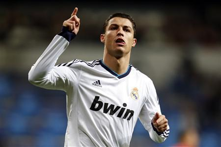 Real Madrid's Cristiano Ronaldo in Madrid February 9, 2013. REUTERS/Sergio Perez