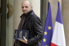 Didier Migaud, le premier président de la Cour des comptes, a estimé mardi que la France n'avait que peu de chance de réduire son déficit public à 3% du PIB fin 2013. Et ce, en raison d'une croissance économique probablement plus faible que prévu par le gouvernement. /Photo prise le 11 février 2013/REUTERS/Philippe Wojazer