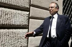 L'ex capo del Sismi, la vecchia agenzia dei servizi segreti militari, Nicolò Pollari, in una foto del luglio 2006. REUTERS/Alessandro Bianchi
