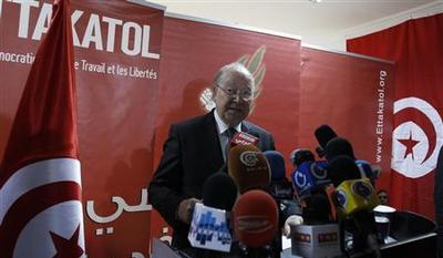 Tunisian coalition party backs idea of technocrat...
