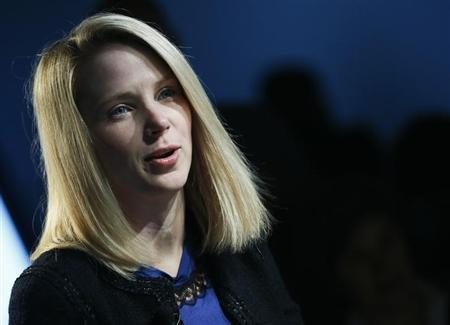 Yahoo Inc Chief Executive Marissa Mayer attends the annual meeting of the World Economic Forum (WEF) in Davos January 25, 2013. REUTERS/Pascal Lauener/Files