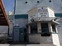 A view of the exterior of Ayalon prison in Ramle near Tel Aviv February 13, 2013. REUTERS/Nir Elias