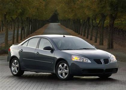 The 2006 Pontiac G6 series is pictured in this handout image courtesy of GM. REUTERS/GM/Handout
