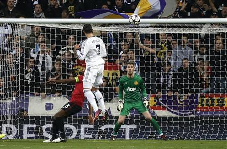 Real, Man United all square as Ronaldo steps up