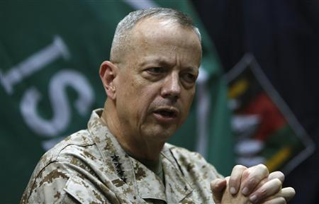 General Allen, cleared in email probe, weighs future