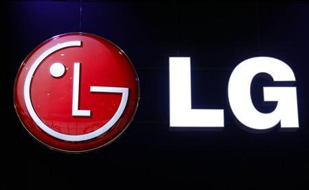 A LG logo is seen during the International CTIA WIRELESS Conference & Exposition in New Orleans, Louisiana May 9, 2012. REUTERS/Sean Gardner
