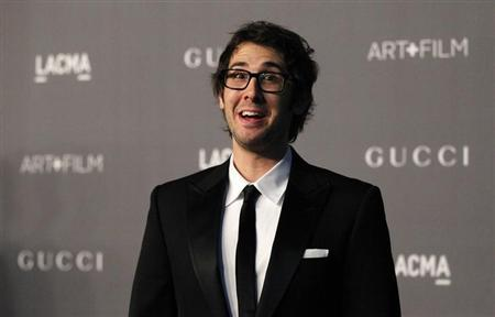 Singer Josh Groban poses at the Los Angeles County Museum of Art (LACMA) 2012 Art + Film Gala in Los Angeles, California October 27, 2012. REUTERS/Mario Anzuoni/Files