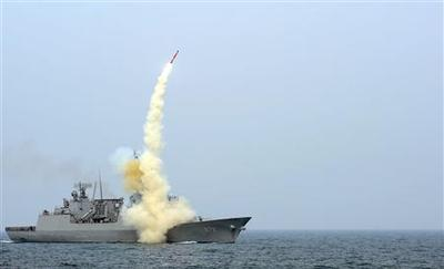 South Korea unveils missile it says can hit North's...