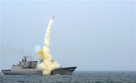 South Korea unveils missile it says can hit North&#039...