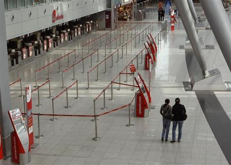 German airports disrupted by security staff strike