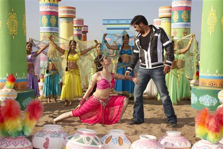 A still from the movie 'Himmatwala'. REUTERS/Handout