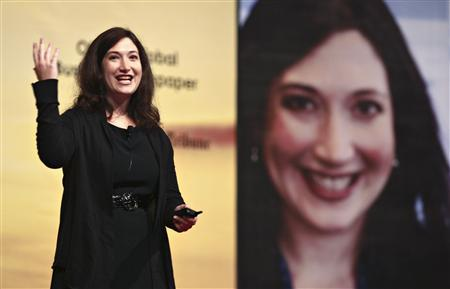 Marketing Director of Facebook Randi Zuckerberg speaks during the Youth Engagement Summit 2009 in Putrajaya outside Kuala Lumpur November 17, 2009. REUTERS/Bazuki Muhammad