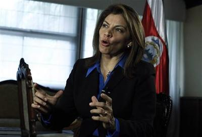 Costa Rican president says ready to act again to...