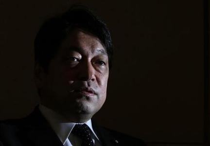 Japan's Defence Minister Itsunori Onodera speaks during an interview with Reuters at the Defence Ministry in Tokyo February 14, 2013. REUTERS/Issei Kato