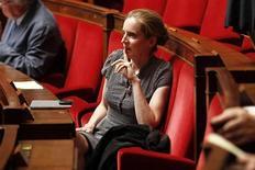 Nathalie Kosciusko-Morizet ambitionne de briser l'hégémonie socialiste à Paris, mais elle aura d'abord à vaincre les rivalités au sein de son propre camp pour pouvoir mener la droite à la bataille des municipales de mars 2014. /Photo d'archives/REUTERS/Charles Platiau