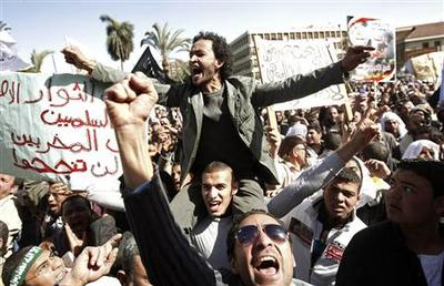 Islamists rally against violence in Egypt