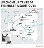 UN CHÔMEUR TENTE DE S'IMMOLER À SAINT-OUEN