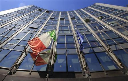 The headquarters of Italian defence and aerospace company Finmeccanica is seen in Rome May 3, 2012. REUTERS/Max Rossi