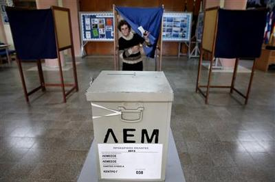 Early results show Cypriot conservative chief with strong lead