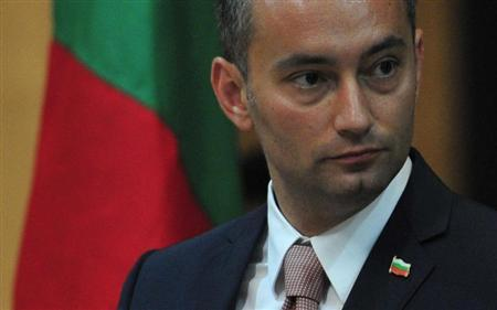 Bulgaria's Foreign Minister Nikolay Mladenov addresses a news conference in Benghazi June 28, 2011. REUTERS/Esam Al-Fetori