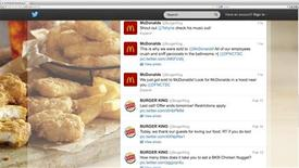 Burger King's Twitter account shows hacking activity before the account was suspended by Twitter in this screen grab taken on February 18, 2013. REUTERS/Handout