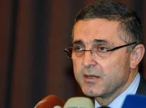 Syria's Minister of State for National Reconciliation Ali Haidar speaks during a news conference in Damascus September 20, 2012. REUTERS/Khaled al-Hariri
