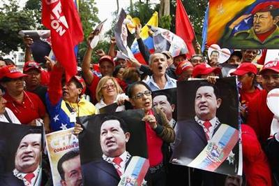 Chavez back in Venezuela, on Twitter with four million...