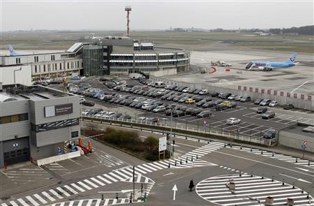 General view of the Zaventem's international airport near Brussels is seen in this March 14, 2011 file photo. REUTERS/Francois Lenoir/Files