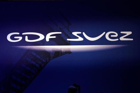 Logo of GDF Suez during a news conference in Paris December 16, 2010. REUTERS/Charles Platiau