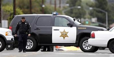 Four dead, including gunman, in California shooting...
