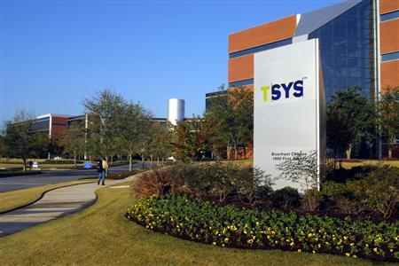 TSYS Global Headquarters are seen in an undated handout photo. REUTERS/TSYS/Handout