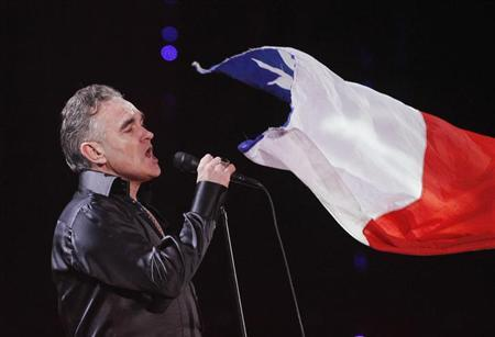British singer-songwriter Morrissey performs during the International Song Festival in Vina del Mar city, about 121 km (75 miles) northwest of Santiago February 24, 2012. REUTERS/Eliseo Fernandez/Files