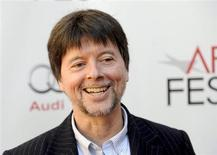 "Director Ken Burns arrives at the Hollywood screening of his movie ""The Central Park Five"" during AFI FEST in Los Angeles, California November 3, 2012. REUTERS/Gus Ruelas"
