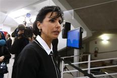 Rachida Dati, candidate aux primaires UMP pour les municipales 2014 à Paris, s'est dite victime mercredi de pressions et d'une campagne de déstabilisation de la part de plusieurs élus de son parti. /Photo d'archives/REUTERS/Benoît Tessier