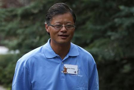 Co-founder of Yahoo Jerry Yang attends the Allen & Co Media Conference in Sun Valley, Idaho July 13, 2012. REUTERS/Jim Urquhart/Files