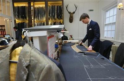 Timeless suits from London's Savile Row back in...