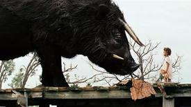 """Quvenzhane Wallis in a scene from the film """"Beasts of the Southern Wild."""" REUTERS/Fox Searchlight Pictures"""