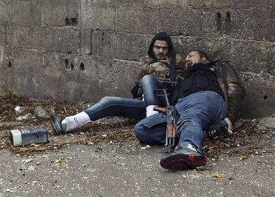 Insight: Battle for Damascus: frozen but bloody