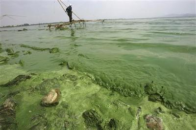 After China's multibillion-dollar cleanup, water still...