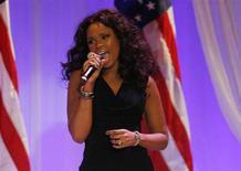 A cantora Jennifer Hudson vai cantar em cerimônia do Oscar no domingo. Foto de 21/01/2013 REUTERS/Rick Wilking