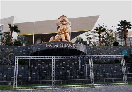 MGM Grand Sanya resort, located near the newly opened Mangrove Tree Resort World, is seen on Sanya Bay in Hainan island February 6, 2013. REUTERS/Farah Master