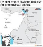 LES SEPT OTAGES FRANÇAIS AURAIENT ÉTÉ RETROUVÉS AU NIGERIA