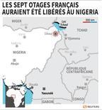 LES SEPT OTAGES FRANÇAIS AURAIENT ÉTÉ LIBÉRÉS AU NIGERIA