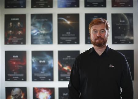 Hilmar Petursson, CEO of IT company CCP, poses for a picture at the company's head office in Reykjavik February 13, 2013. REUTERS/Stoyan Nenov