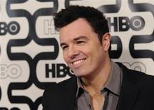 Seth MacFarlane arrives at the HBO after party after the 70th annual Golden Globe Awards in Beverly Hills, California January 13, 2013. REUTERS/Gus Ruelas