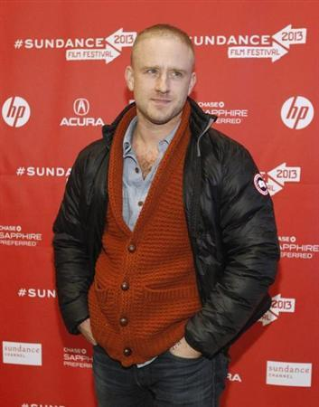 Cast member Ben Foster poses at the premiere of ''Kill Your Darlings'' during the Sundance Film Festival in Park City, Utah January 18, 2013. REUTERS/Mario Anzuoni