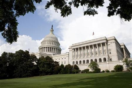 A view of Capitol Hill in Washington August 1, 2011. REUTERS/Joshua Roberts/Files